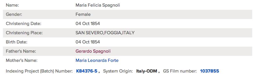 Maria Felicia Spagnoli