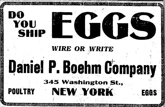Eggs 1917